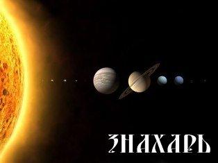 Парад Планет: Меркурий, Марс, Венера, Юпитер