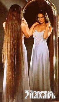 Красивая девушка с прекрасными волосами